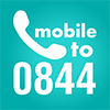 Mobile to 0844